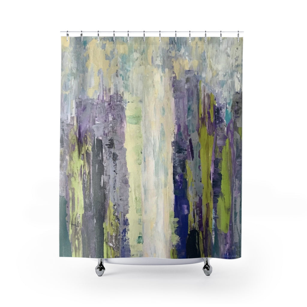 "Shower Curtain - ""Emerald City"""