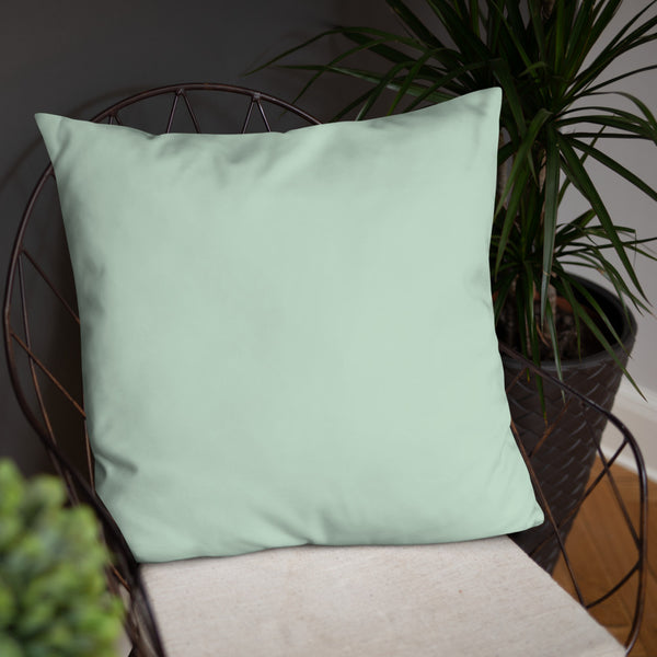 "Basic Pillow - ""Tango in the Garden"""