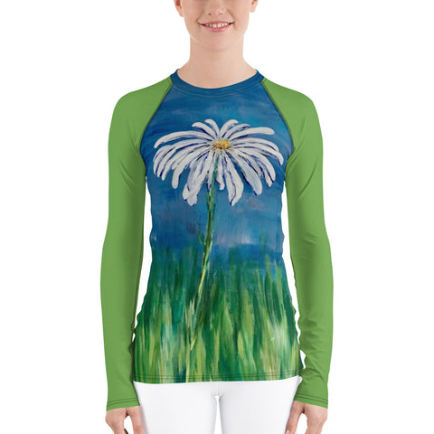 "Women's Rash Guard - ""Hope"""