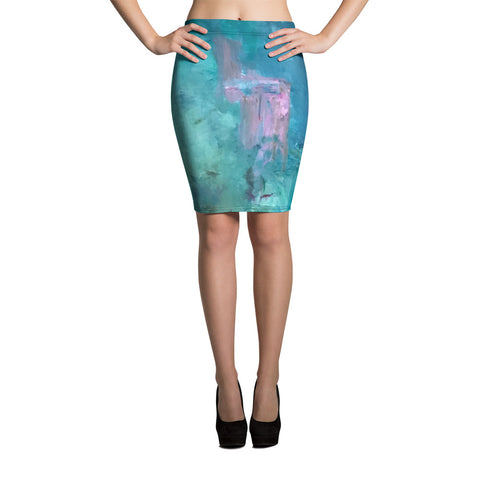 "Pencil Skirt - ""Stairway to Heaven"""