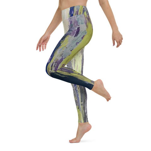 "Yoga Leggings - ""Emerald City"""