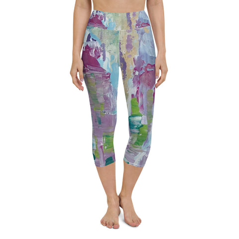 "Yoga Capri Leggings - ""In Between"""
