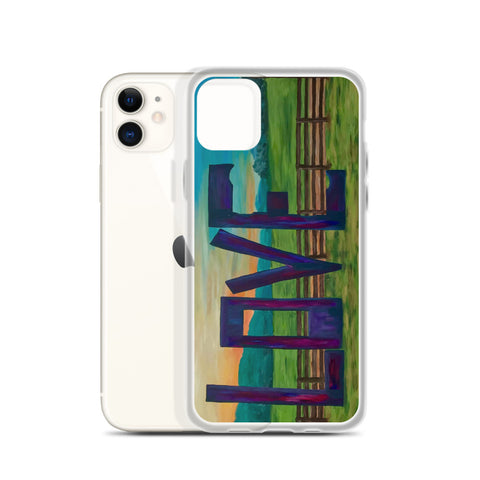 "iPhone Case - ""Lock in Love"""