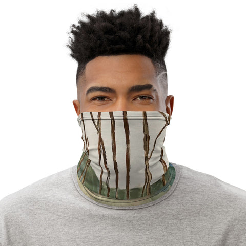"Neck Gaiter - ""Wintergreen Woods"""