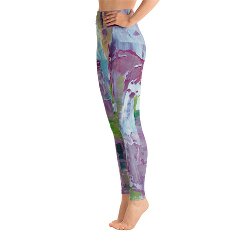 "Yoga Leggings - ""In Between"""