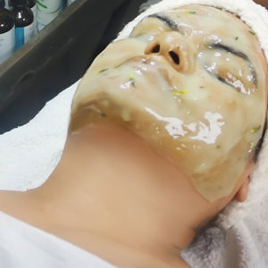 Dermaplane and Jelly Masque