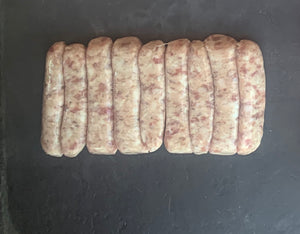 8 Pork Sausages - Original recipe '1844'