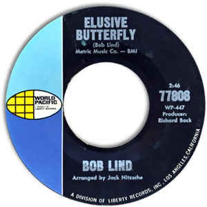 "Bob Lind - Elusive Butterfly / Cheryl's Goin' Home (7"" - 45 RPM)"