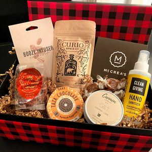 Just Add Booze! Holiday Cheer Gift Box