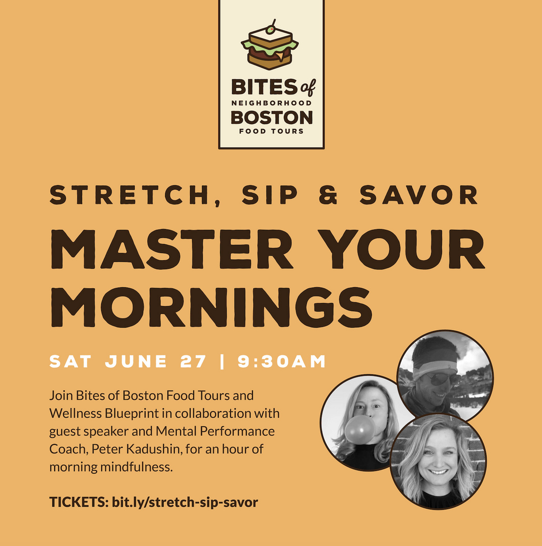 Stretch, Sip & Savor: Master Your Mornings