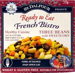 St. Dalfour Ready to Eat French Bistro 3 Beans with Sweetcorn Salad