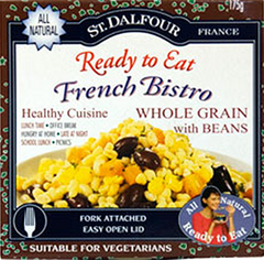 St. Dalfour Ready to Eat French Bistro Whole Grain with Beans