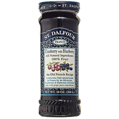 St. Dalfour Cranberry & Blueberry Jam