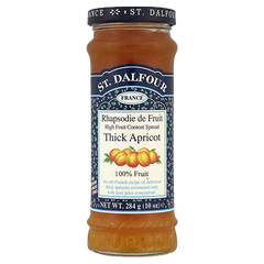 St. Dalfour Thick Apricot 100% fruit Jam