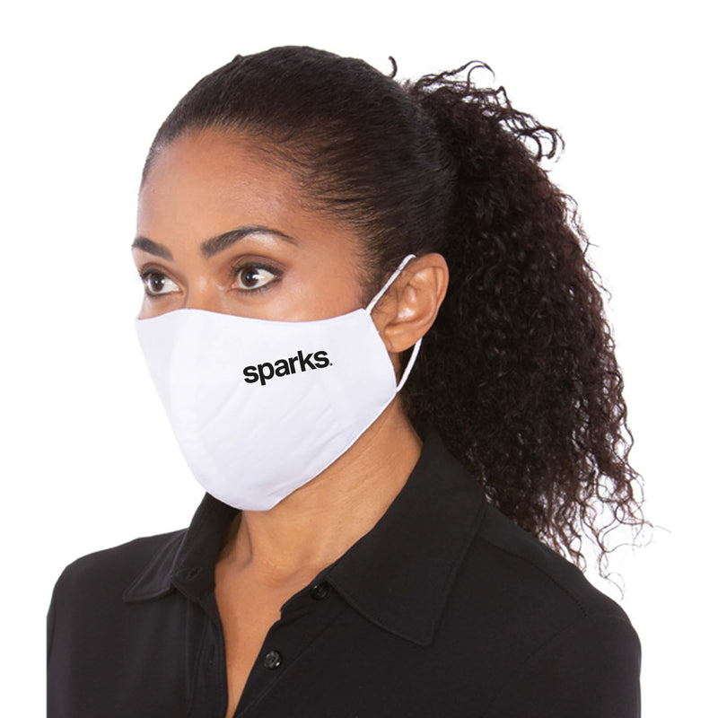 Branded Three Layer White Protective Mask - 5,000 Unit Minimum for Each Size Branded Mask Order