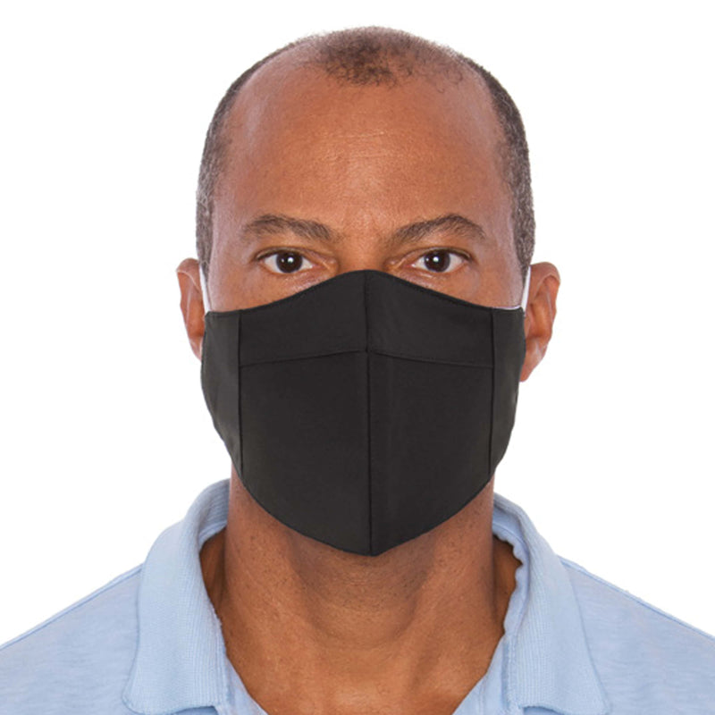 Three Layer Black Protective Masks - 10,000 Unit Minimum for Each Size Mask Order