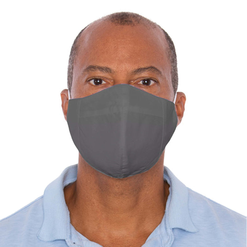 Three Layer Gray Protective Masks - 1,000 Unit Minimum for Each Size Mask Order