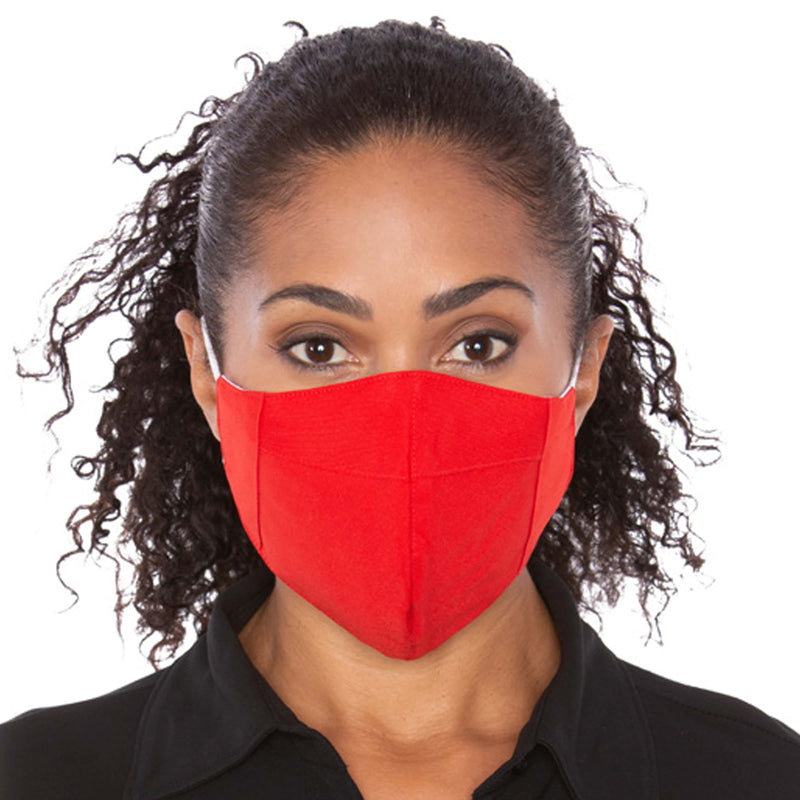 Three Layer Red Protective Masks - 2,000 Unit Minimum for Each Size Mask Order