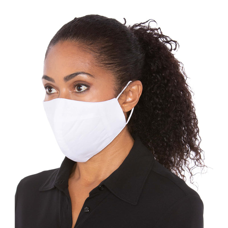 Three Layer Standard White Protective Mask - 2,500 Unit Minimum for Each Size Mask Order