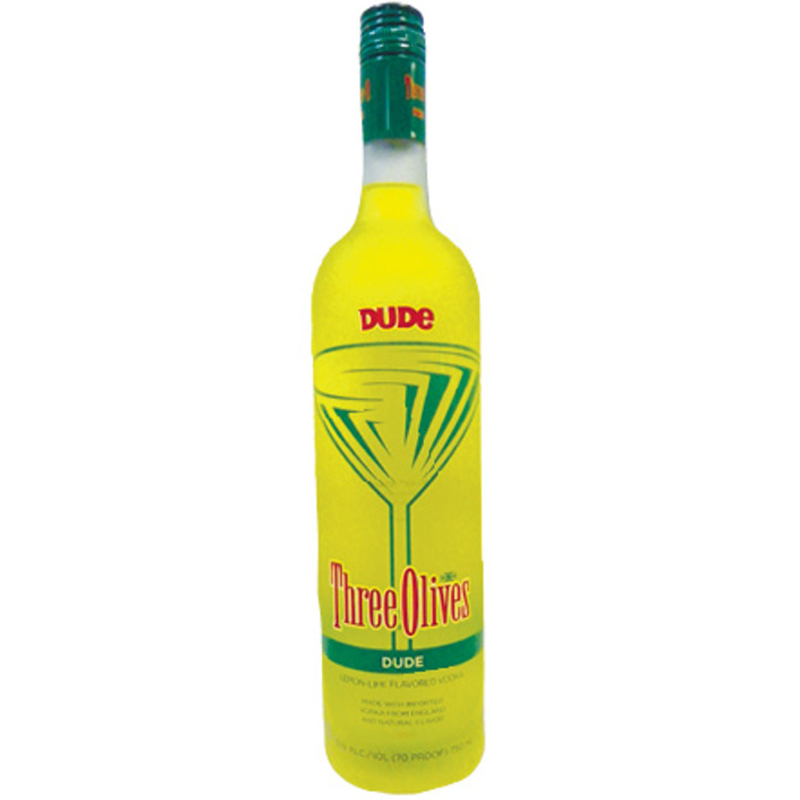Three Olives Vodka Made With Natural Flavors Imported From England - 750 ml - Ramona Liquor