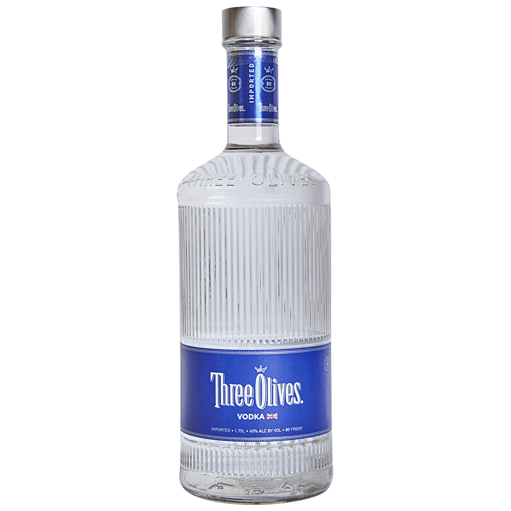 Three Olives Vodka Imported From United Kingdom - 1.75L - Ramona Liquor