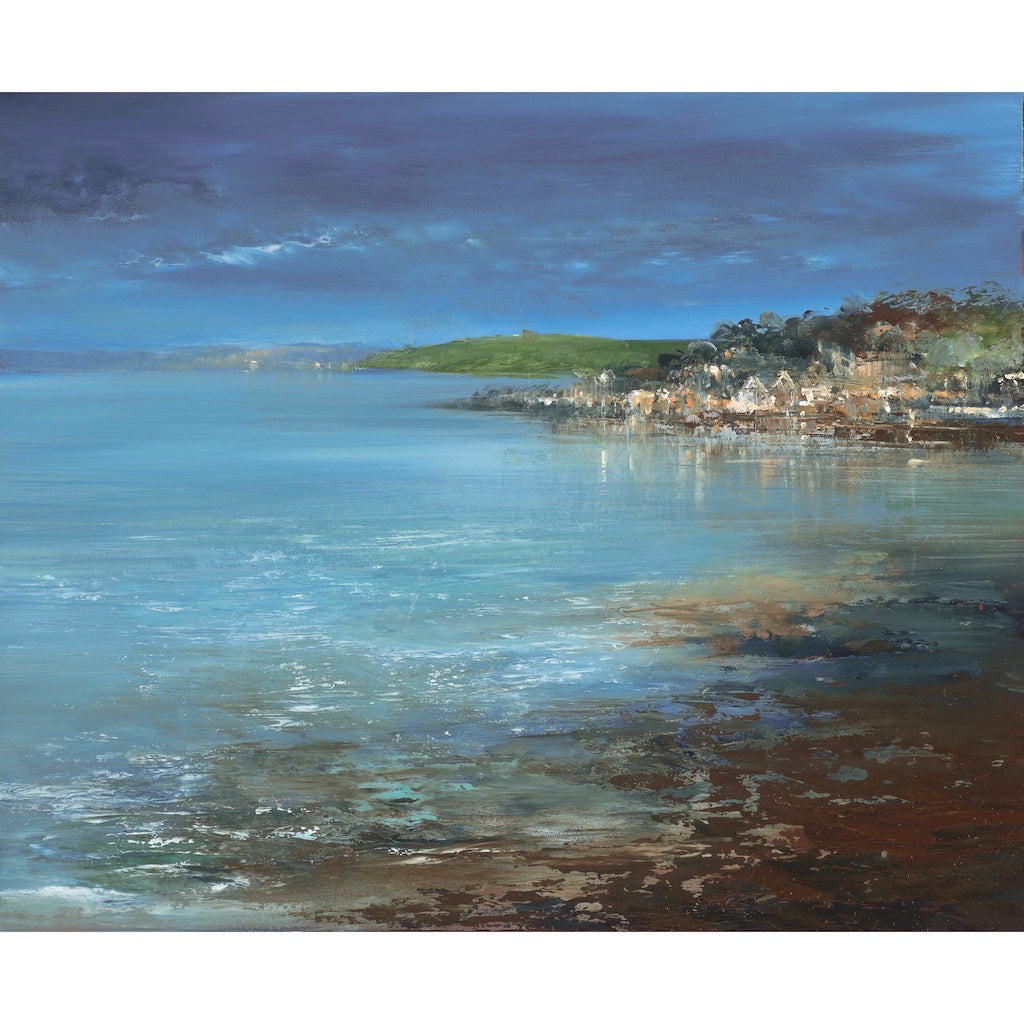 Painting of St Mawes, Cornwall by artist Amanda Hoskin