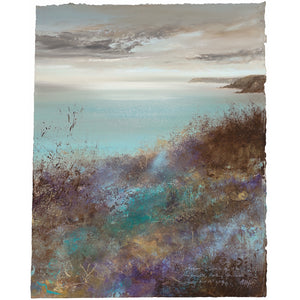 Limited edition print of Dodman Point, Cornwall by artist Amanda Hoskin