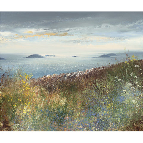Limited edition print of the Isles of Scilly by artist Amanda Hoskin