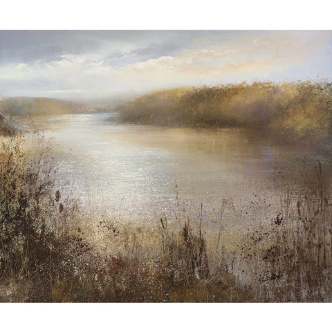 Limited edition print of the Helford River, Cornwall by artist Amanda Hoskin