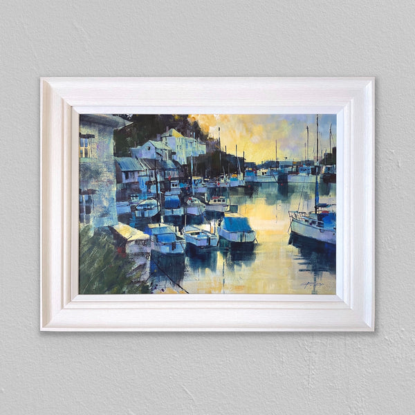Reflecting Sunrise, Polperro