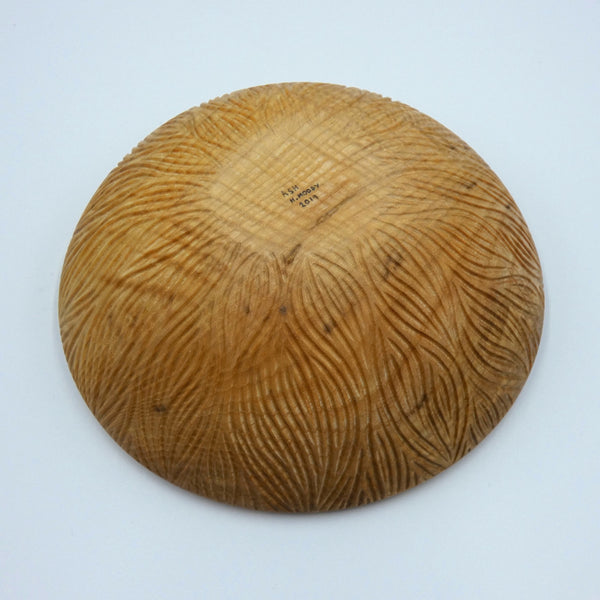 Carved Ash Bowl