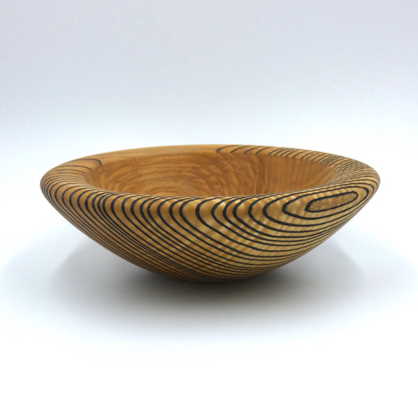 Ash bowl by woodturner Howard Moody
