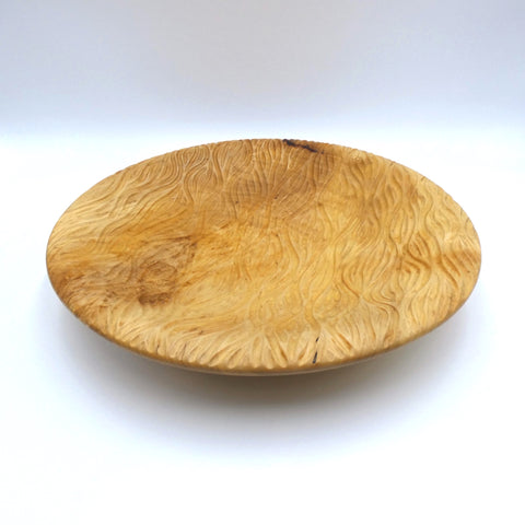 Sycamore bowl by woodturner Howard Moody