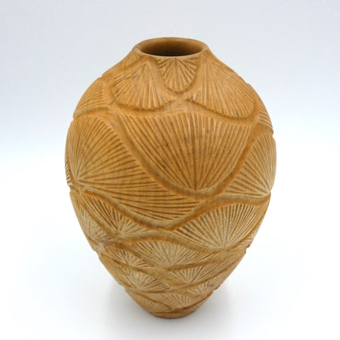 Sycamore vase by woodturner Howard Moody