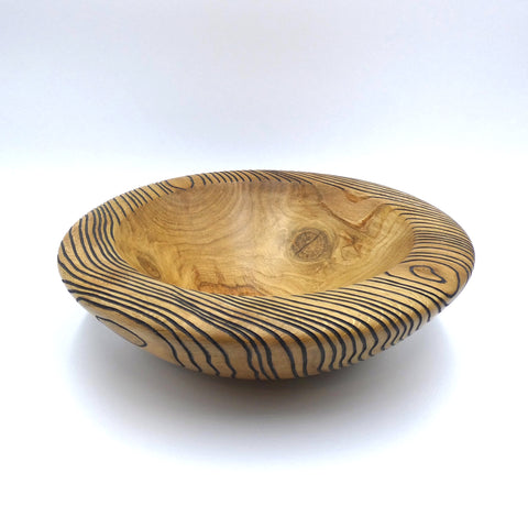 Oak bowl by woodturner Howard Moody