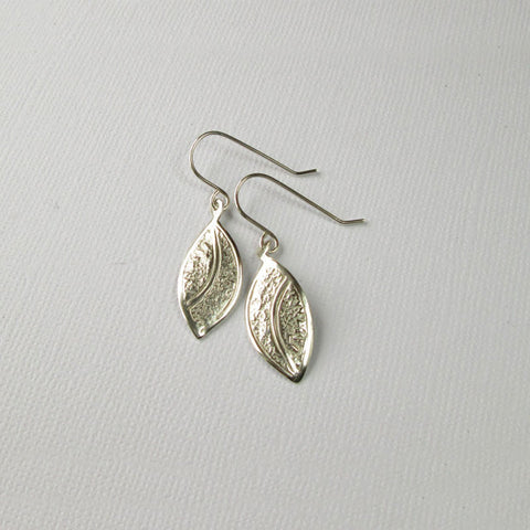 Silver Leaf Collection - Drop Earrings