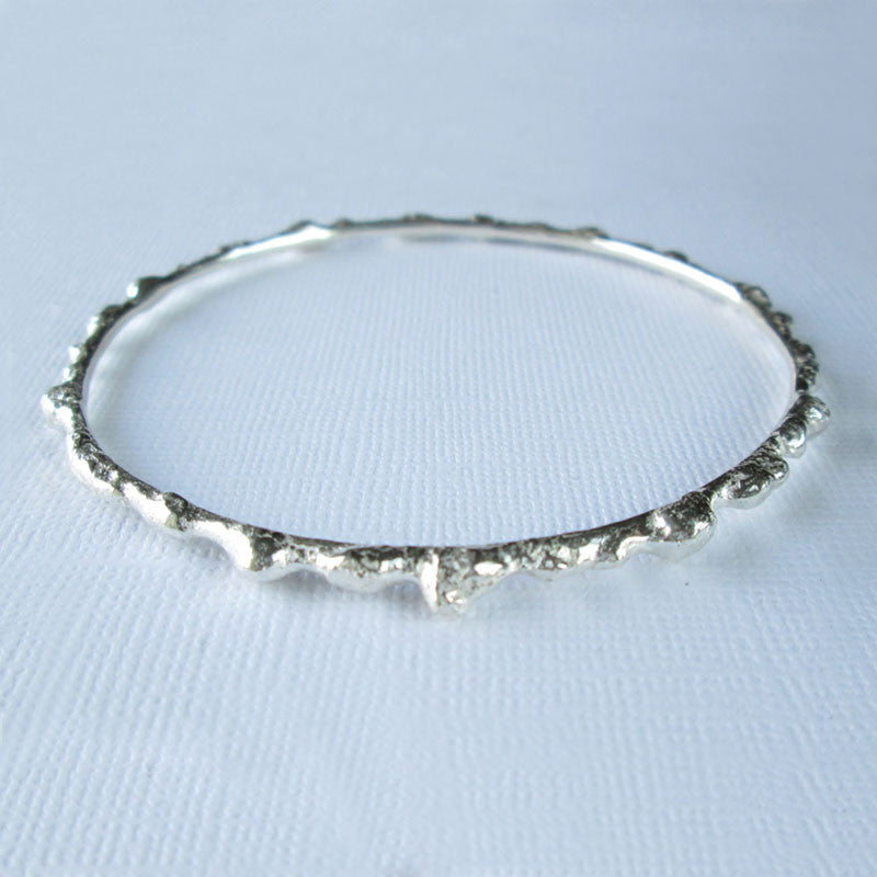 Signature Collection - Silver Bangle