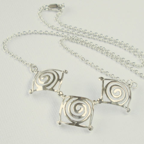Square Jester Collection Necklace