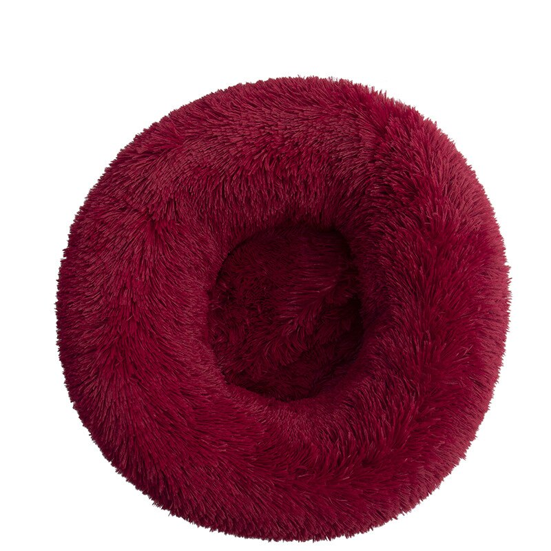 SNUGGY CALMING BED™ BURGUNDY