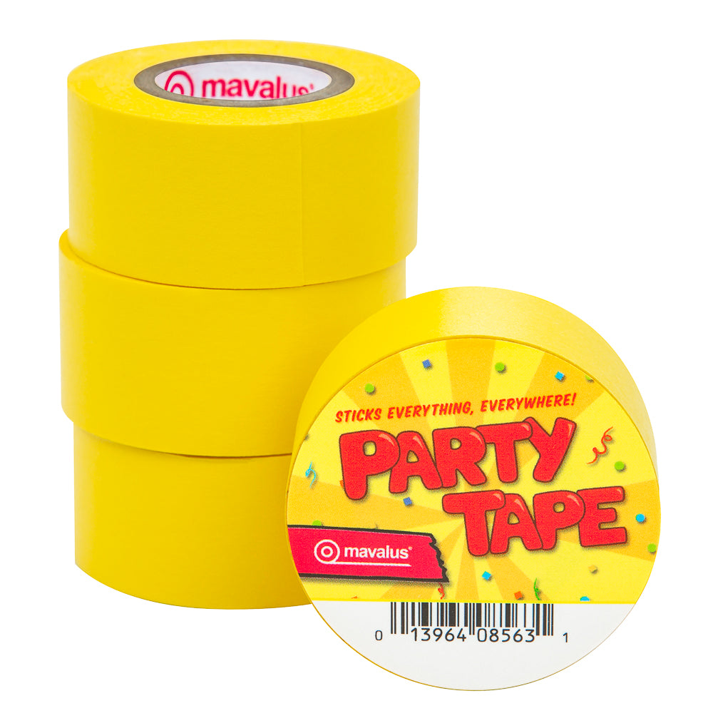 "1"" x 324"" Party Tape - 4 Pack"