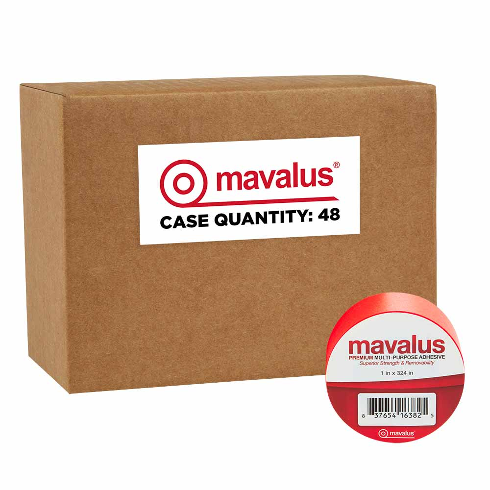 "1"" x 324"" Mavalus Tape - 48 Pack Case"