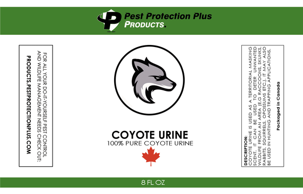 Coyote Urine Mist Spray (8oz Spray Bottle)