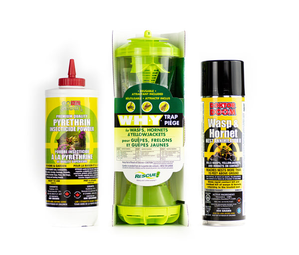 Wasp and Hornet Nest Elimination Kit (for Cracks and Crevices)