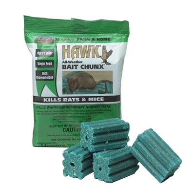 Rat Control Package: 2 x Bait Station and 2 x Packs of Bait