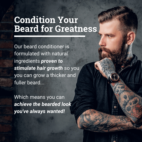 Polished Gentleman Club Beard Growth and Thickening Conditioner upsell