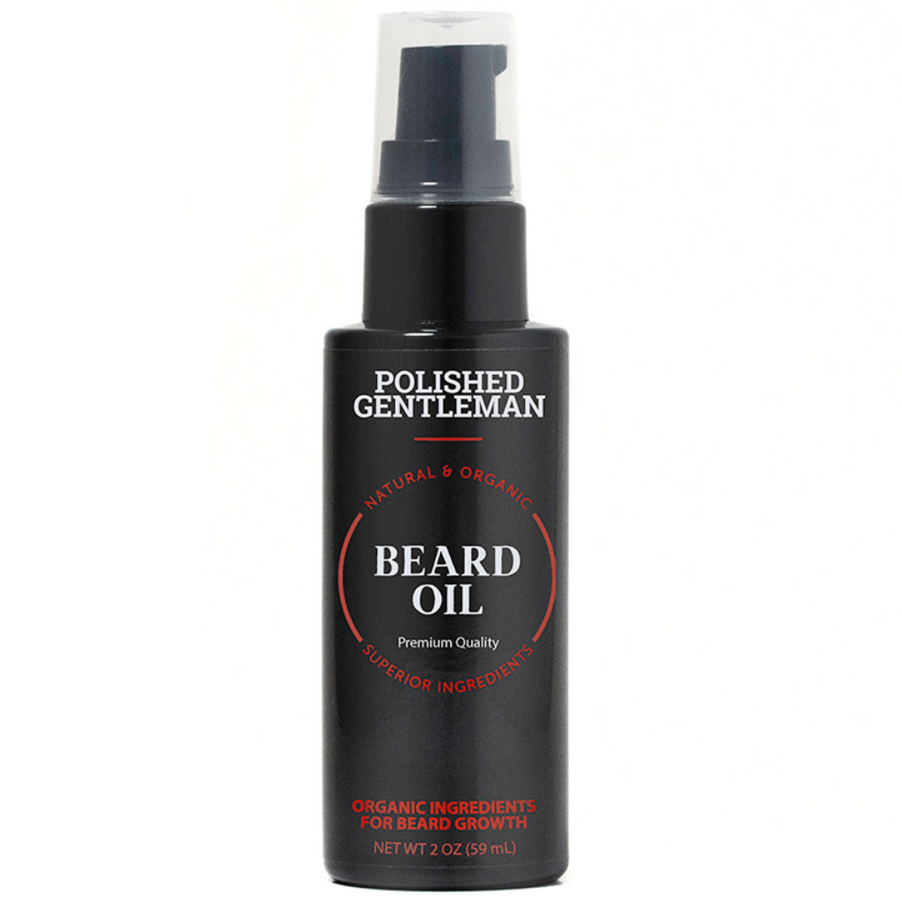 Polished Gentleman Club Beard Growth Oil 2oz (Single)