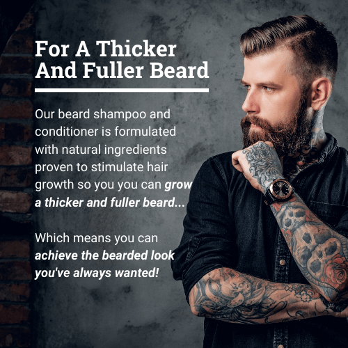 Beard Growth Shampoo and Conditioner Set - Polished Gentleman