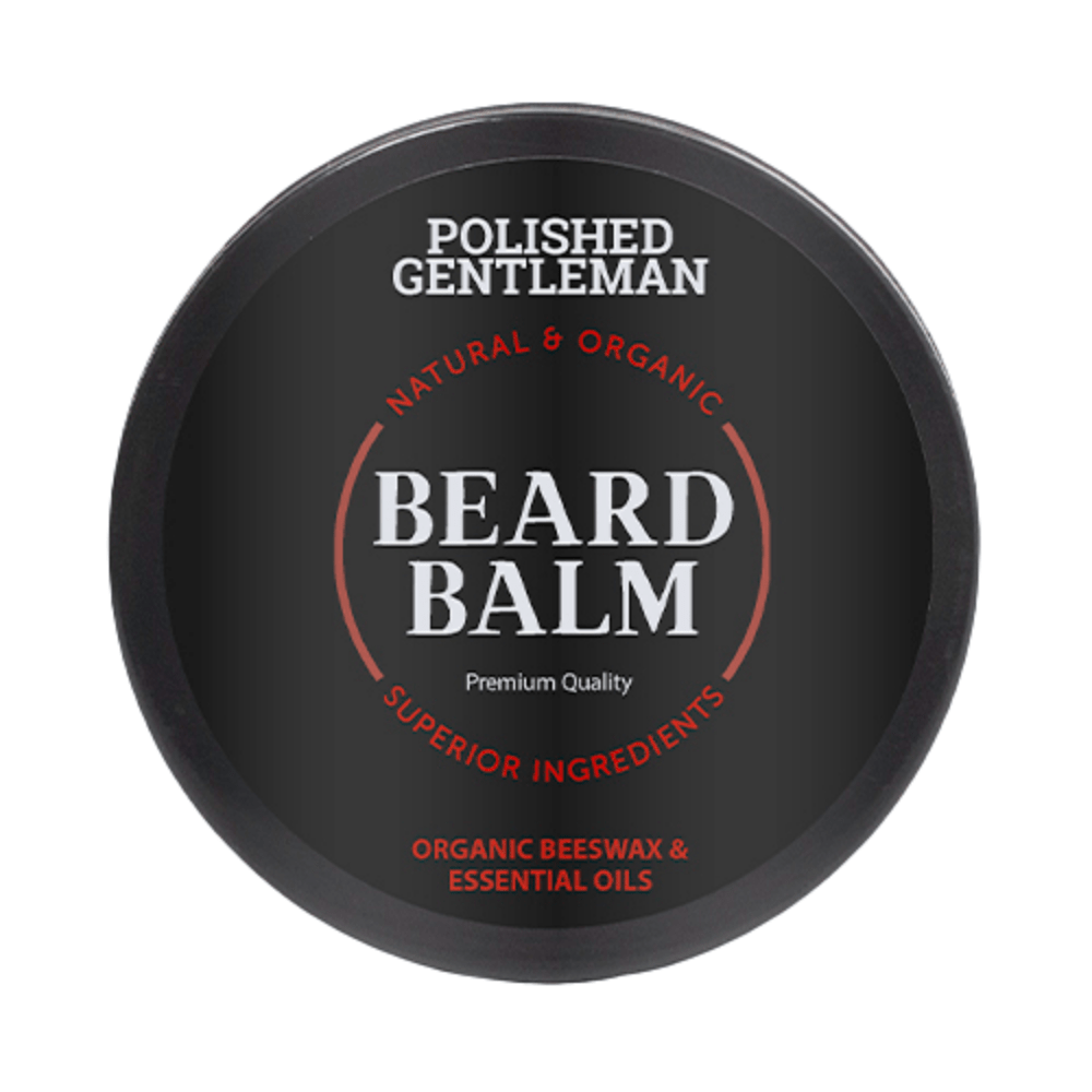 Polished Gentleman Club Sandalwood Beard Balm
