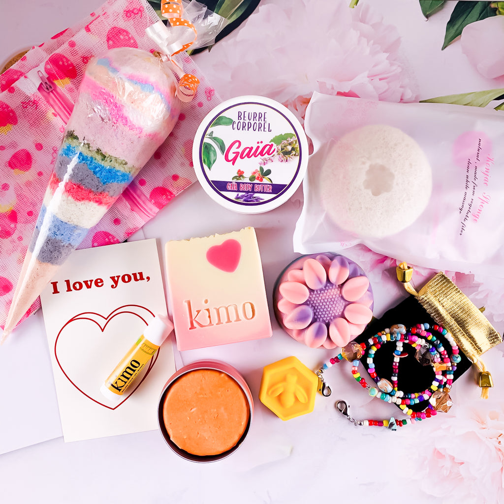 COFFRET REMPLI D'AMOUR | FULL OF LOVE BOX - Kimo Soaps