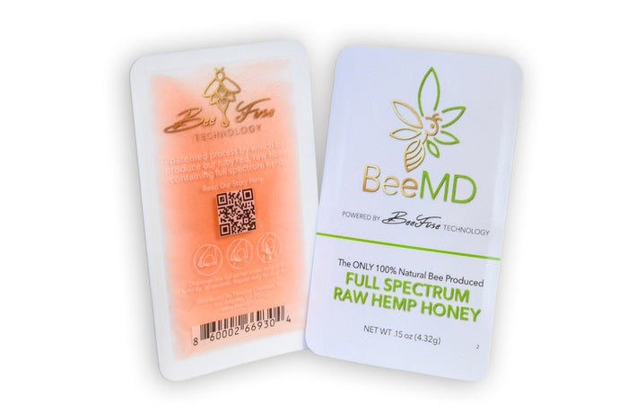 Full Spectrum Hemp Honey -- Snap Packs